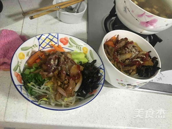 韩式牛肉拌饭怎样煮