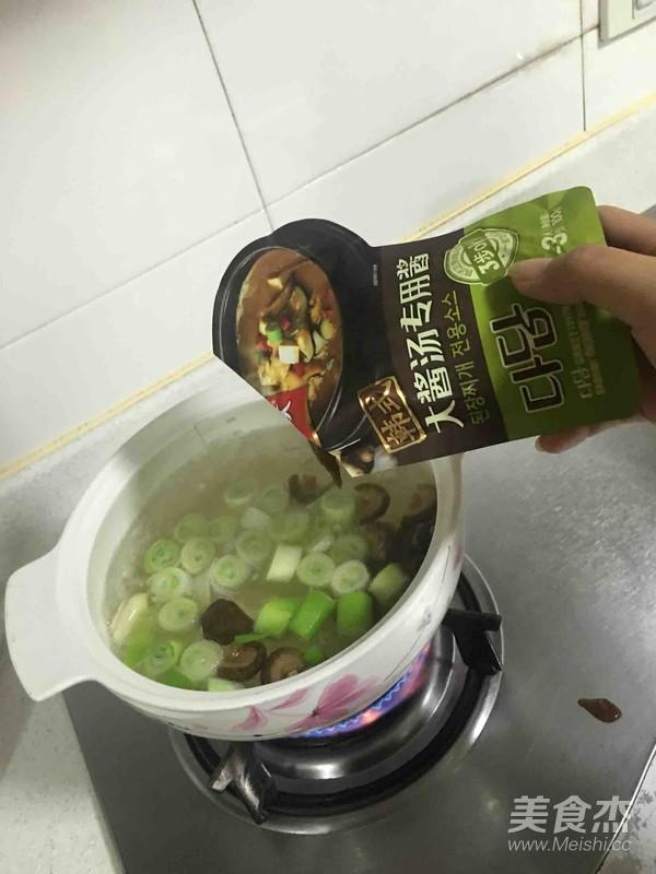 韩国大酱汤怎么煸