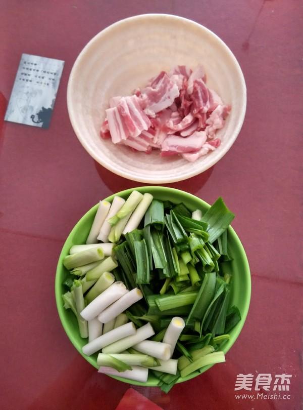 下饭菜蒜叶五花肉的做法大全