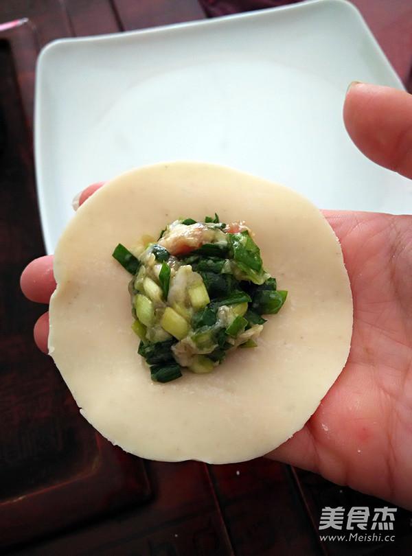 韭菜饺子的家常做法
