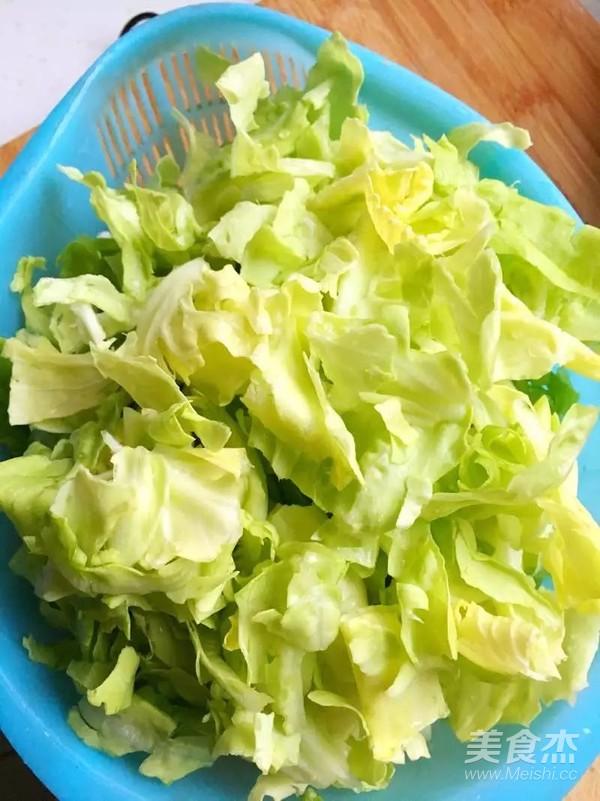 卷心菜炖回锅肉的做法图解