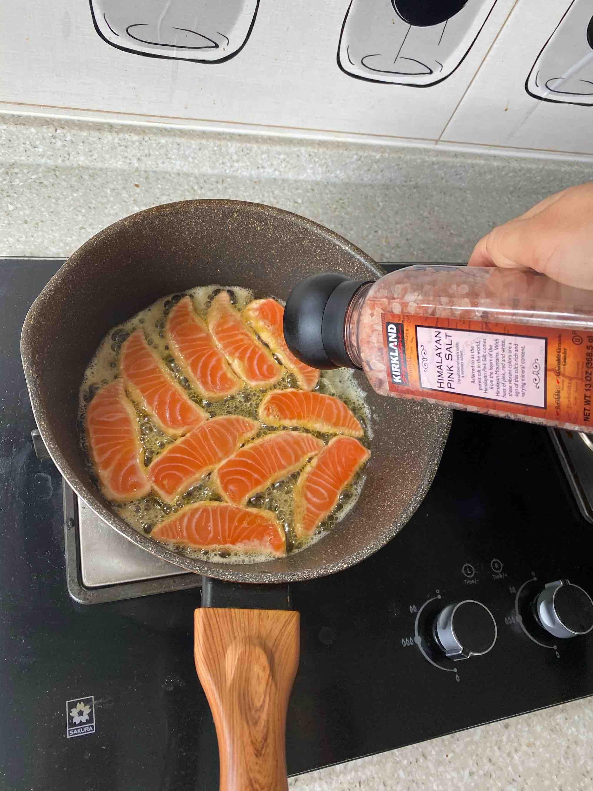 煎三文鱼怎么做
