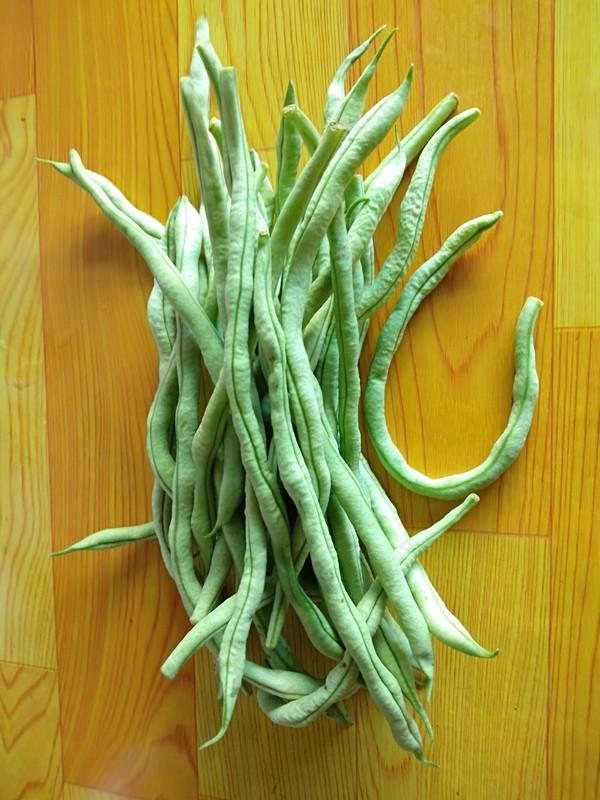 干煸芸豆的步骤
