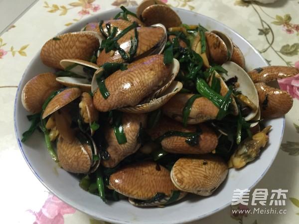 豉椒紫苏炒花甲怎么煮