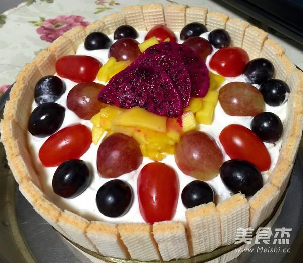 水果生日蛋糕怎么炒