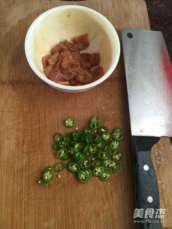 菜花炒肉的做法图解