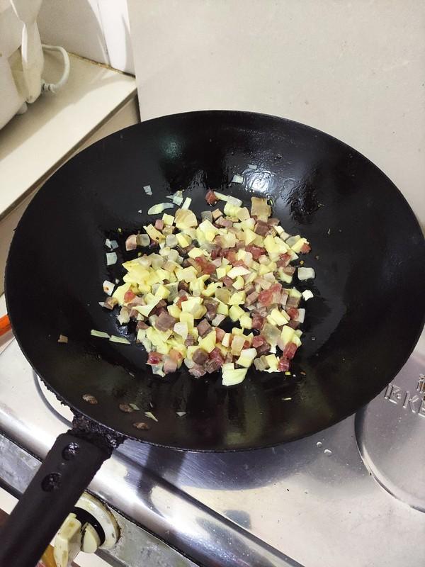 腊味笋丁怎么煮