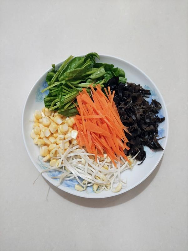 彩虹蔬菜包的做法大全