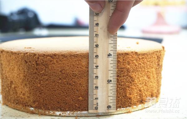 8寸戚风蛋糕的步骤