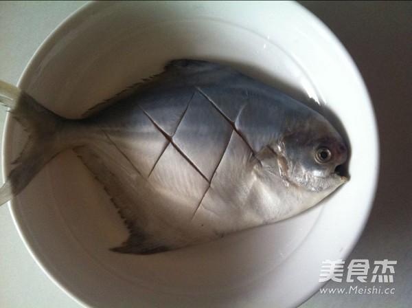 葱油鲳鱼的做法图解