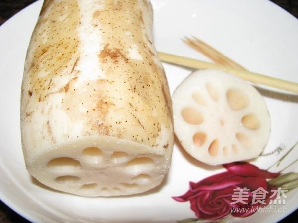 烤糯米藕的做法图解