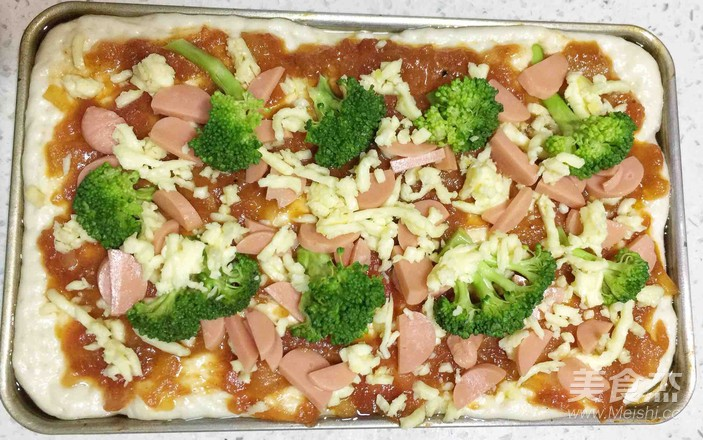 改良版火腿披萨怎样煸