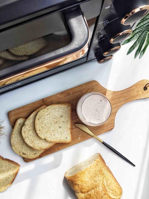 燕麦吐司面包怎样煸
