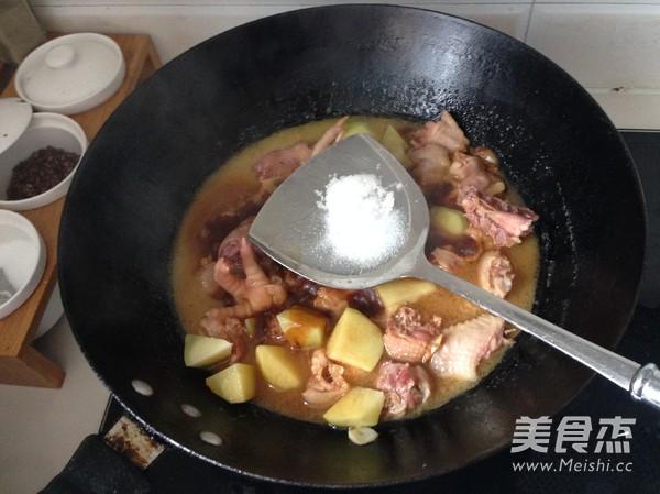 土豆烧鸡怎么煮