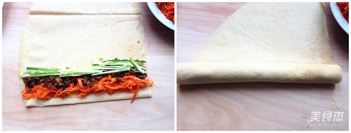 营养蔬菜卷的简单做法
