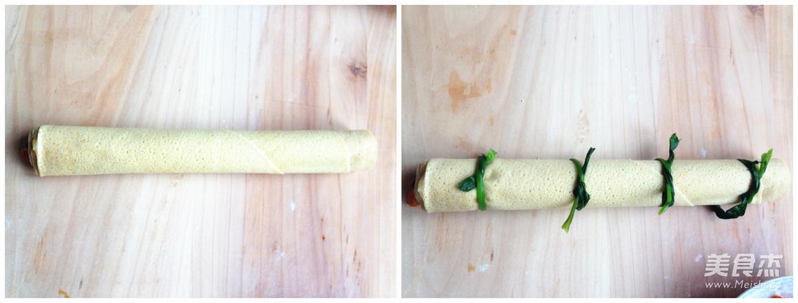 营养蔬菜卷怎么吃