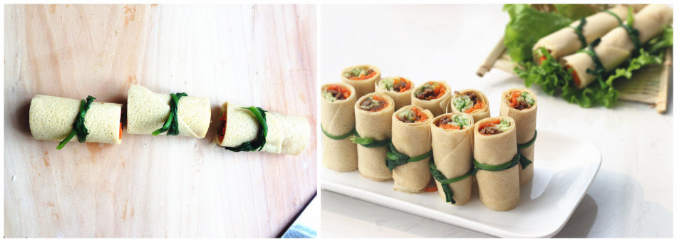 营养蔬菜卷怎么做