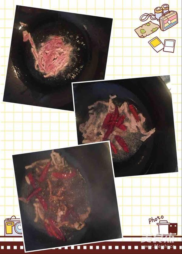 黄豆芽炒肉丝的做法图解