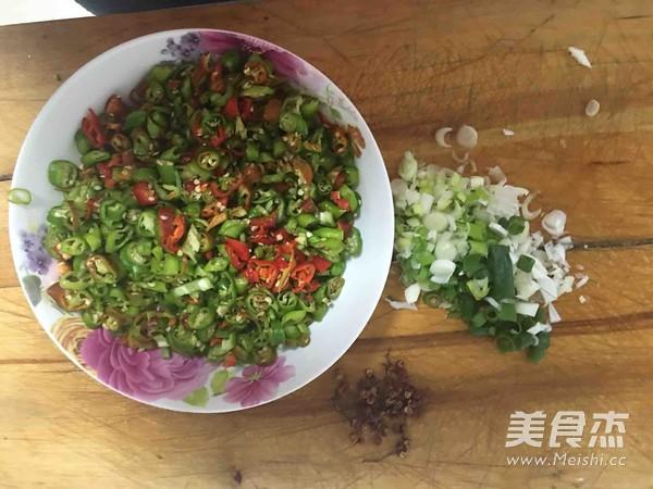 辣椒炒面粉的做法图解