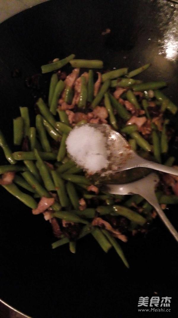 家常四季豆炒肉怎么炒