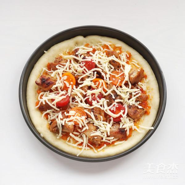 丘比-香辣鸡肉pizza的做法大全