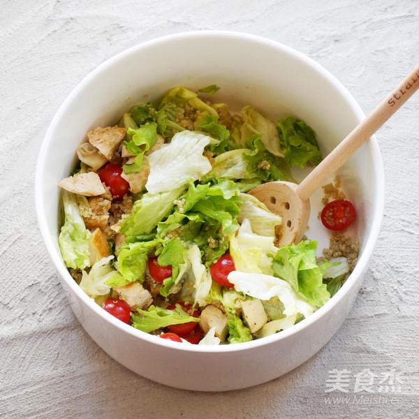 丘比-藜麦鸡肉沙拉怎样炒