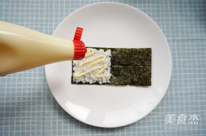 丘比-手卷寿司的步骤