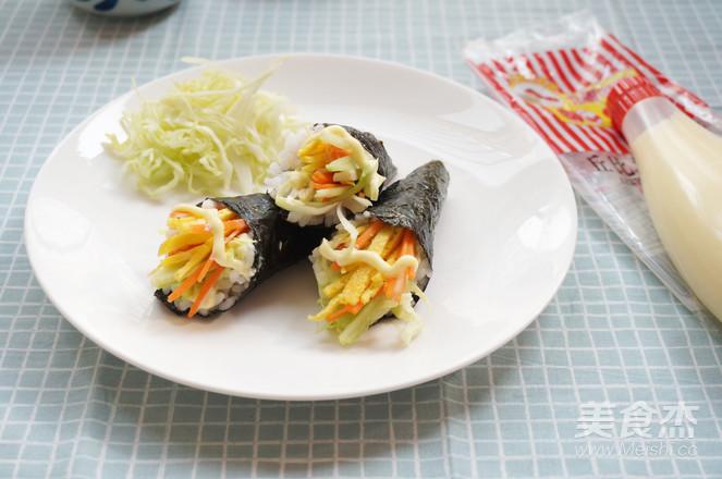 丘比-手卷寿司成品图