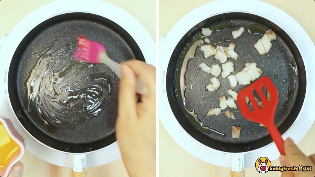鳕鱼青菜炒面怎么吃