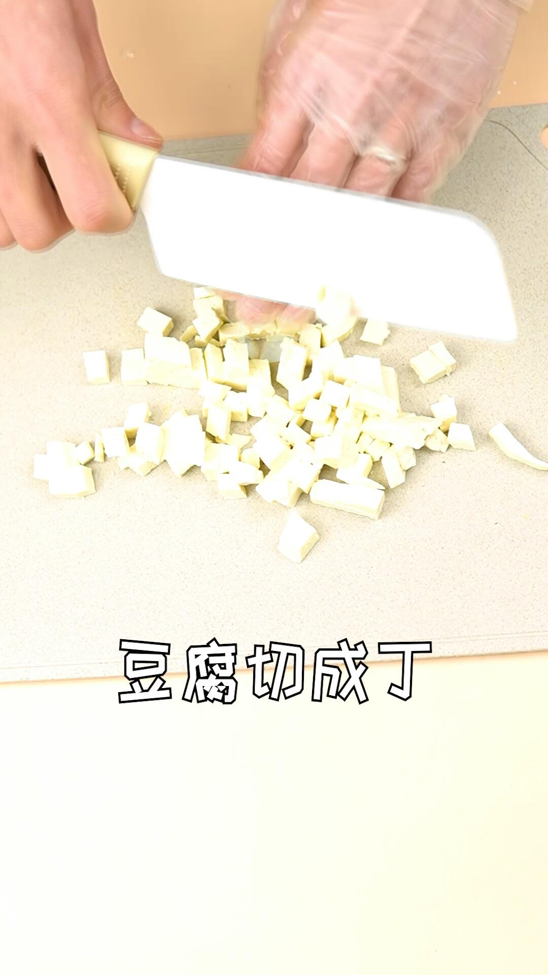 蔬菜豆腐蝴蝶面的做法大全