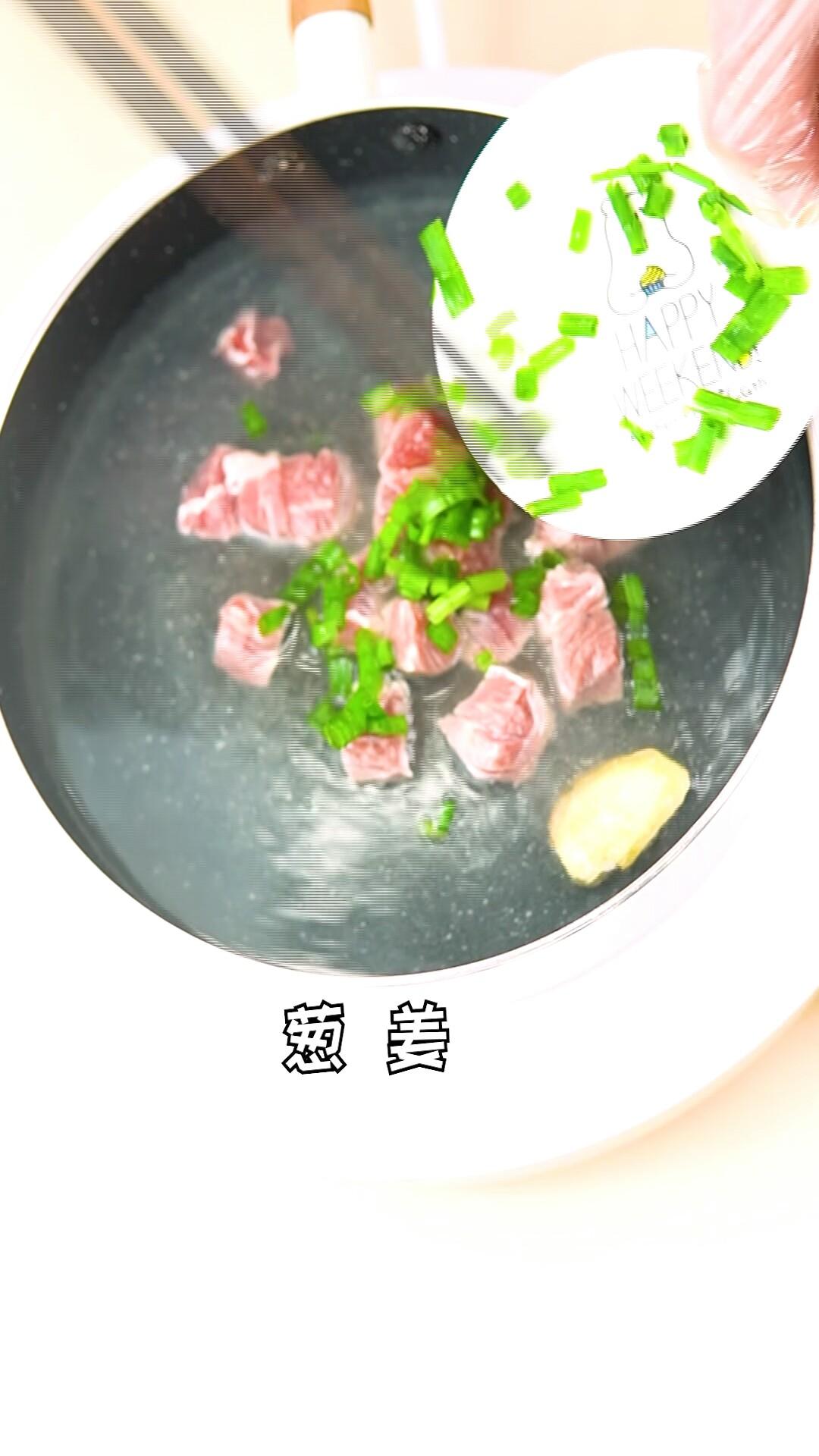 香菇胡萝卜炖牛腩的家常做法