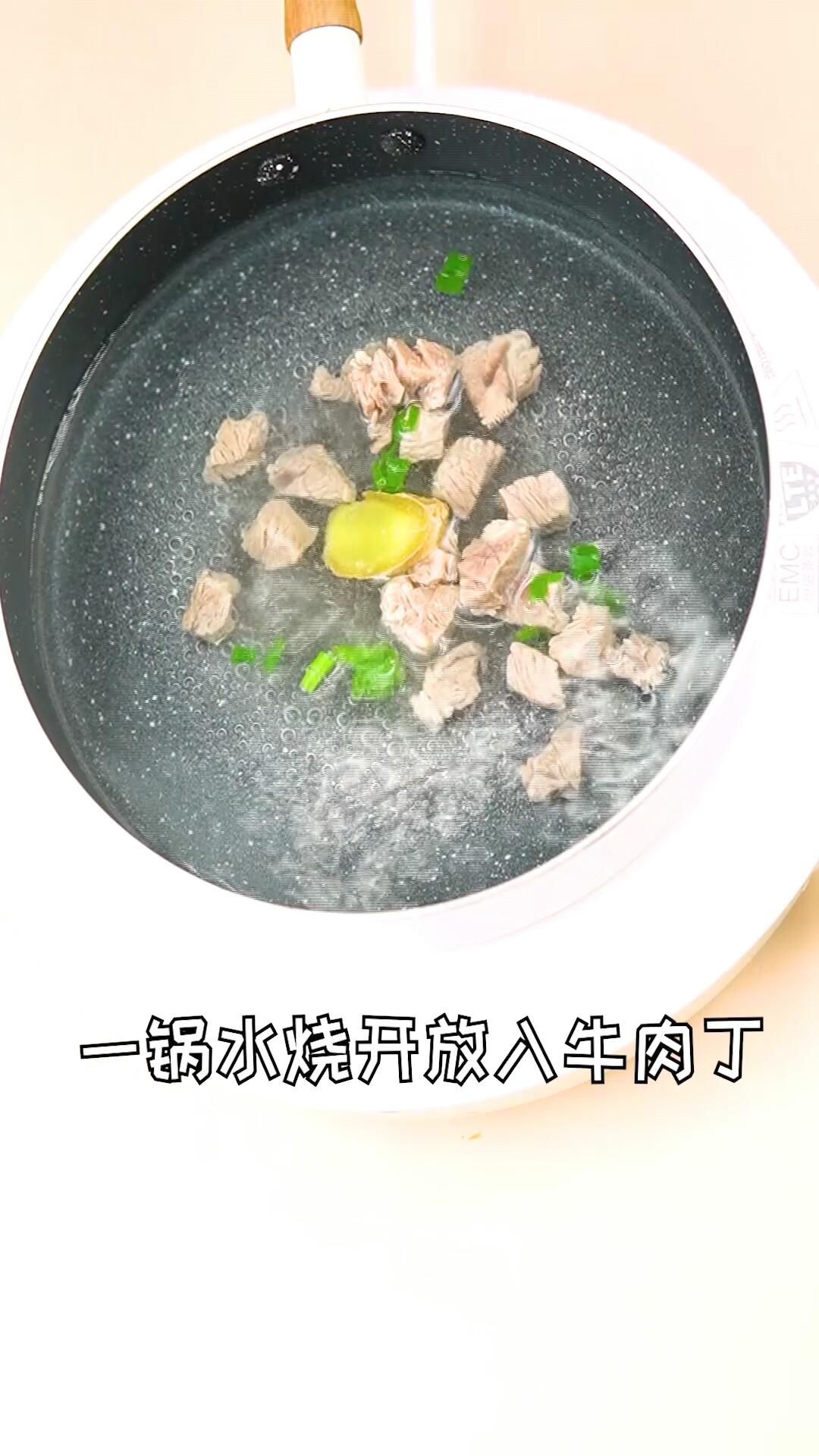 香菇胡萝卜炖牛腩怎么炖