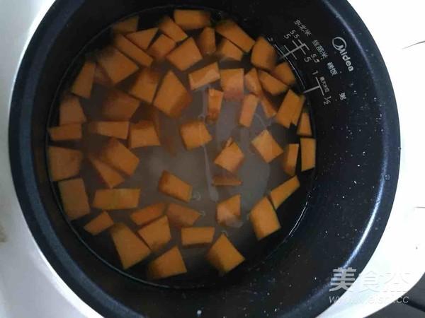 南瓜大米粥的家常做法