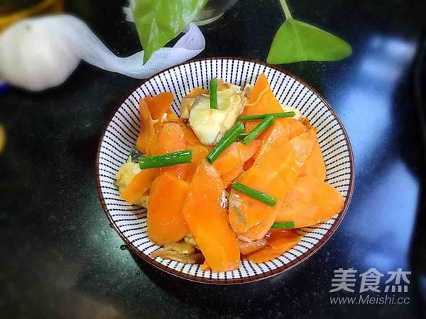 胡萝卜烧鱼块怎么煮