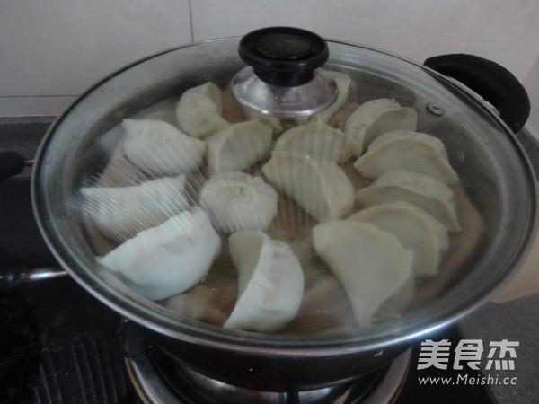 猪肉白菜蒸饺怎么煮