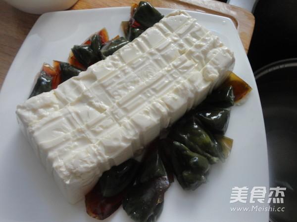 皮蛋豆腐的家常做法