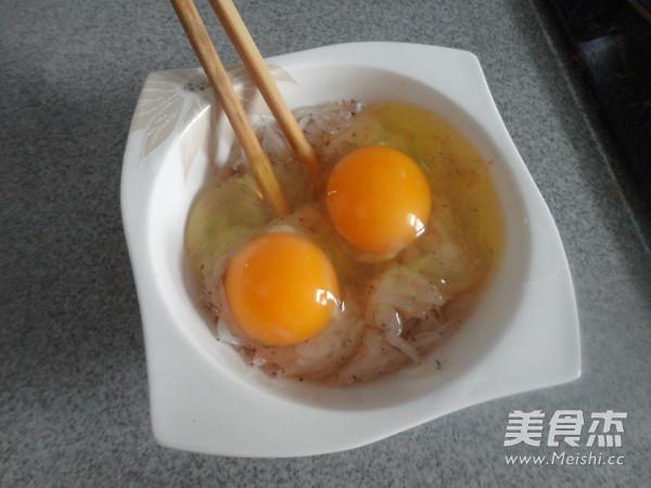雪虾炒鸡蛋的做法图解