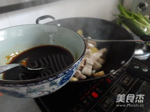 杏鲍菇红烧肉怎么炖