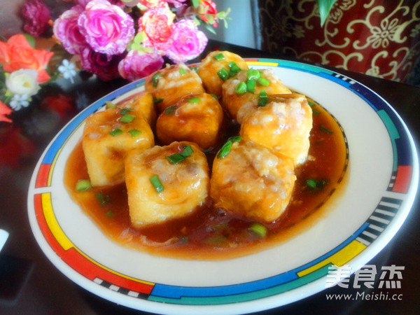 豆腐泡酿肉怎么炒
