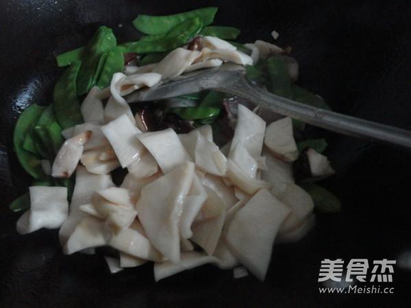 杏鲍菇炒腊肉怎么做