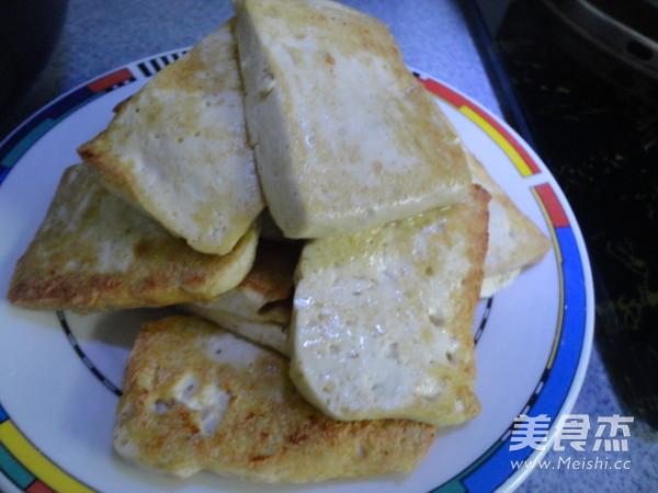 豆腐炒菜心的家常做法