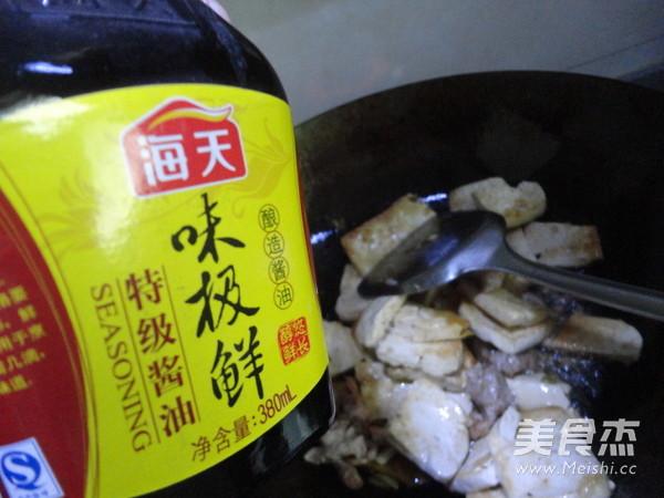 豆腐炒菜心怎么炖