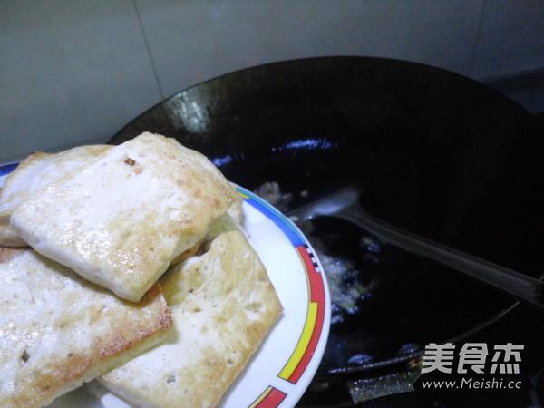 豆腐炒菜心怎么煮