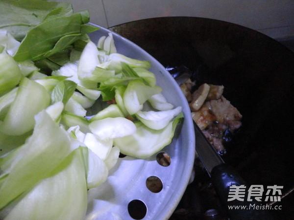 豆腐炒菜心怎么煸
