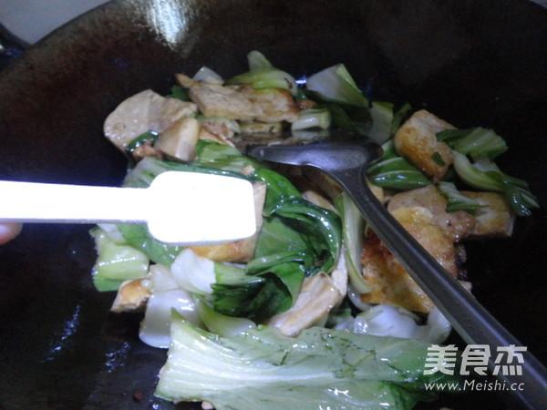 豆腐炒菜心怎样煸