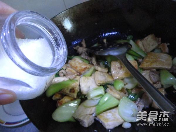 豆腐炒菜心怎样做