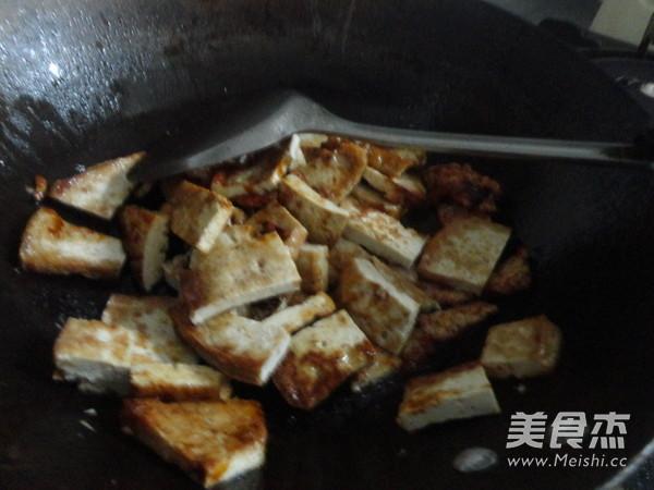 油菜炒豆腐怎么做