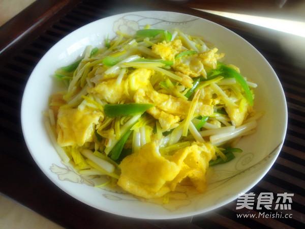 韭黄炒鸡蛋怎么煮