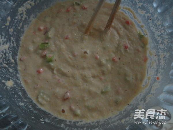 蔥香玉米餅的步驟