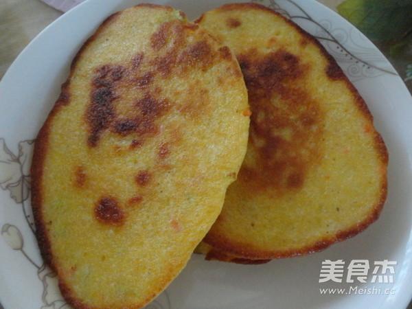 蔥香玉米餅成品圖